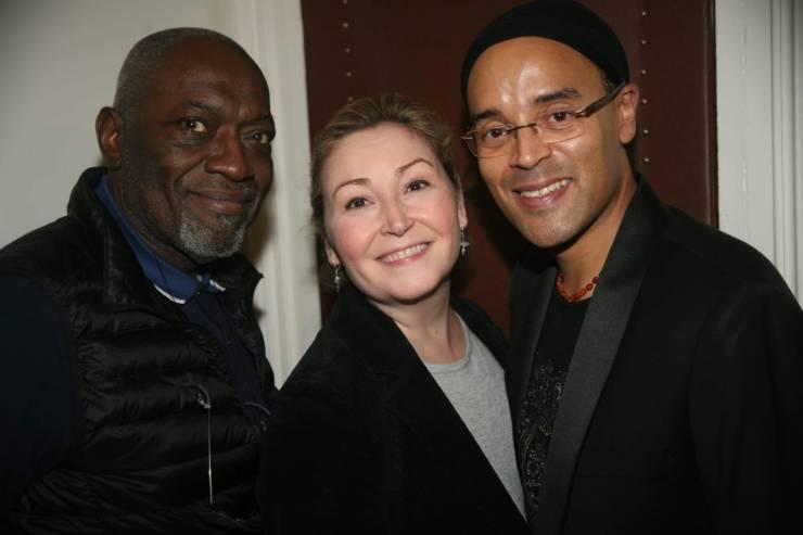 Jacob Desvarieux guitariste de Kassav, Karine Deshayes chanteuse lyrique et Fabrice di Falco