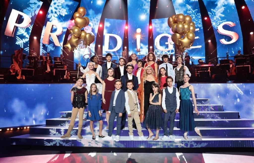 Les Jeunes Prodiges de l'émission diffusée sur France 2 ou Livia Louis Joseph Dogue représente les Voix des Outre-mer